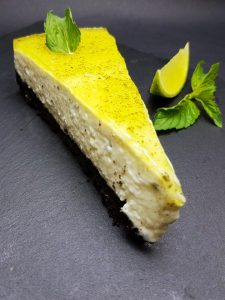 5. Mint cheesecake with lime
